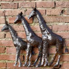 Girafes applique murale